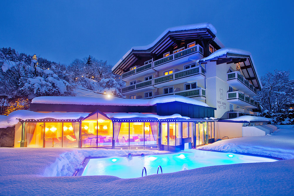 Hotel Berner In Zell Am See Next To The Spa Ski Slope